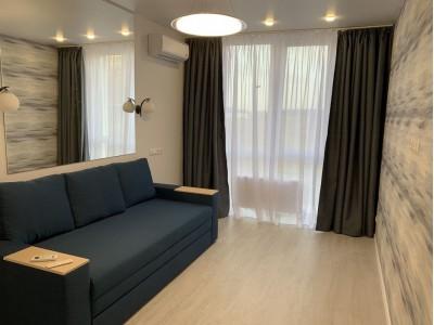Современная однокомнатная квартира в ЖК София, ул. Яблуневая, Софиевская Борщаговка. Цена-9000грн.